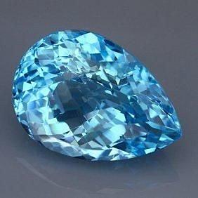 Натуральный Азотик топаз камень