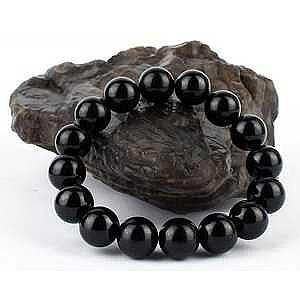 Камень черный турмалин натуральный